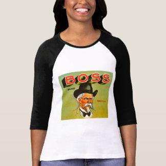 Chefen brännmärker jordbruksproduktervintage tröjor