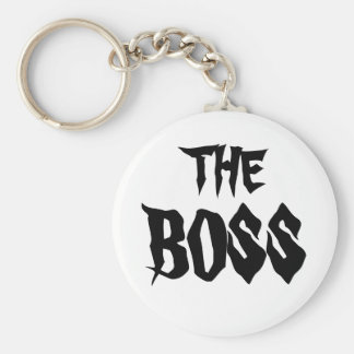 Chefen Rund Nyckelring