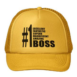 Cheferfödelsedaggåvor: Numrera en chef Keps
