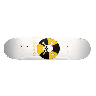 chemo-ungen skridskon stiger ombord skateboard bräda 20,5 cm