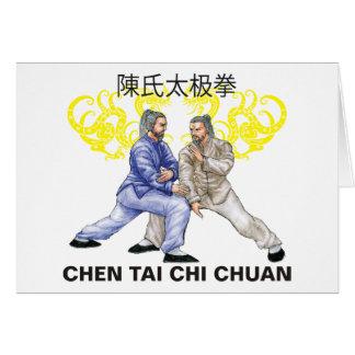 Chen Tai Chi Chuan Hälsningskort