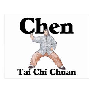 Chen Tai Chi Chuan Vykort