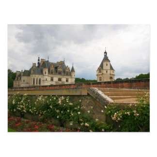Chenonceau slott vykort