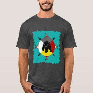 Cherokee björnT-tröja för fyra riktningar Tee Shirt