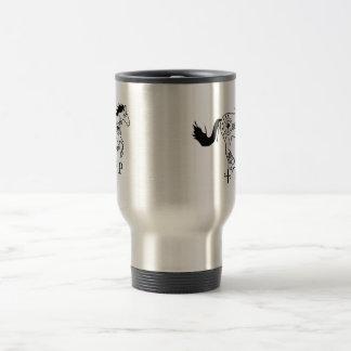 Cherokee hästkaffemugg resemugg