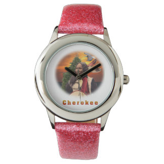 Cherokee indier armbandsur