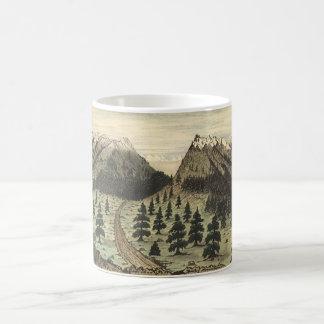 Cherokee passera rocky mountains av Daniel A. Kaffemugg