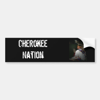 Cherokee pojke bildekal