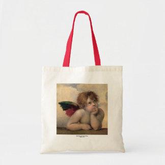 Cherub från Sistine Madonna vid Raphael Tygkasse
