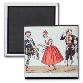 Cherubino, Fanchette och Figaro Magnet