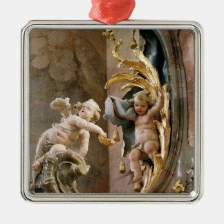 Cherubs 1737-66 julgransprydnad metall