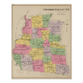 Cheshire County NH Poster