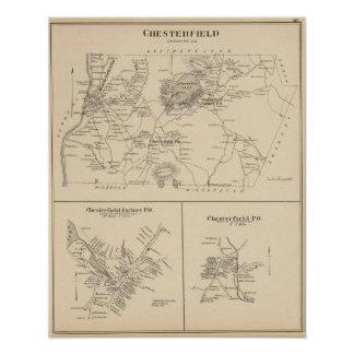 Chesterfield Cheshire Co Poster