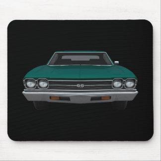 Chevelle 1969 SS: Grönt fullföljande: Mousepad Musmatta