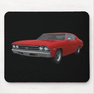 Chevelle 1969 SS: Rött fullföljande: Mousepad Musmatta