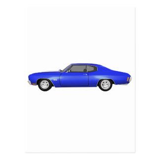 Chevelle 1970 SS: Blåttfullföljande: Vykort
