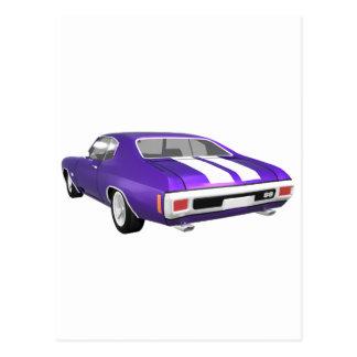 Chevelle 1970 SS: Lilafullföljande: Vykort