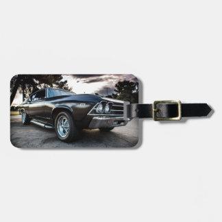 Chevelle fotografi 1969 bagagebricka