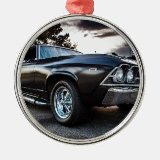 Chevelle fotografi 1969 julgransprydnad metall