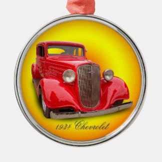 CHEVROLET 1934 JULGRANSPRYDNAD METALL