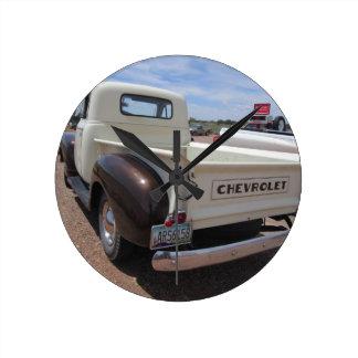 Chevrolet lastbil 1953 rund klocka