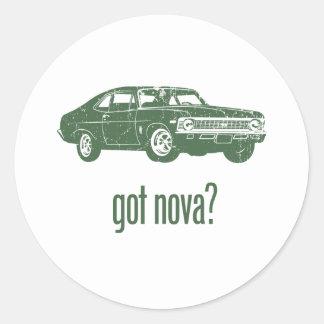 Chevrolet Nova 1968 SS 396 Runt Klistermärke