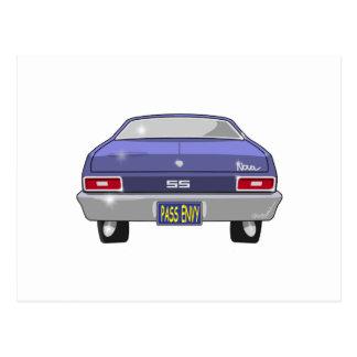 Chevrolet Nova 1970 SS Vykort