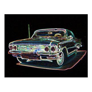 Chevy 1960 vykort