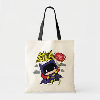 Chibi Batgirl redo för handling Tygkasse