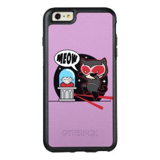 Chibi Catwoman som stjäler en diamant OtterBox iPhone 6/6s Plus Skal