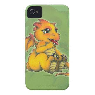 Chibi drake iPhone 4 Case-Mate fodral