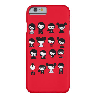 Chibi Emo Goth iphone6 Barely There iPhone 6 Fodral