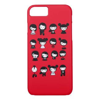 Chibi Emo Goth iPhone 7