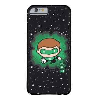 Chibi grönt lyktaflyg till och med utrymme barely there iPhone 6 fodral