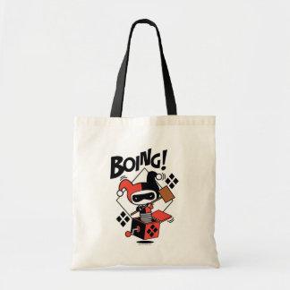 Chibi Harley-Quinn-I-EN-Boxas med bultar Budget Tygkasse