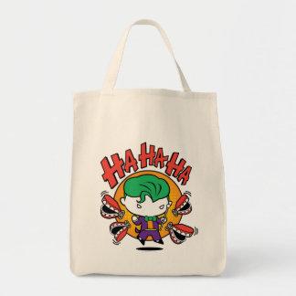 Chibi Joker med leksaktänder Mat Tygkasse