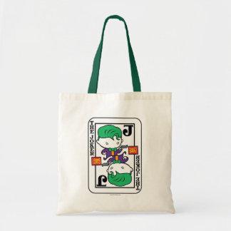Chibi Joker som leker kortet Tygkasse