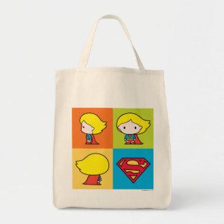 Chibi Supergirl teckenproduktion Mat Tygkasse