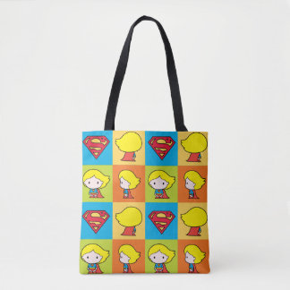 Chibi Supergirl teckenproduktion Tygkasse
