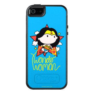 Chibi undra kvinnaflyg med lassoen OtterBox iPhone 5/5s/SE skal