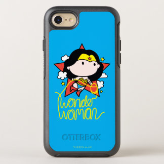 Chibi undra kvinnaflyg med lassoen OtterBox symmetry iPhone 7 skal