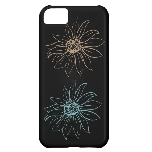 Chic daisy iPhone 5C skal
