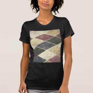 Chic för textil för twill för checkers för vintage t shirts