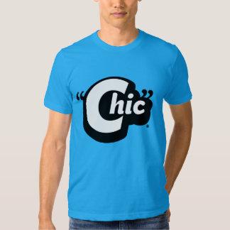 Chic grafisk utslagsplats t-shirt