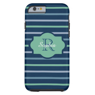 CHIC IPHONE 6 CASE_AQUAMARINE/LUCITE/SCUBA-BLUE TOUGH iPhone 6 CASE