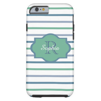 CHIC IPHONE 6 CASE_AQUAMARINE/LUCITE/SCUBA-BLUE TOUGH iPhone 6 SKAL