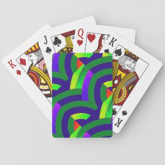 chic moderna sofistikerade sparrar spel kort