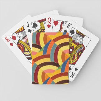 chic moderna sofistikerade sparrar spelkort