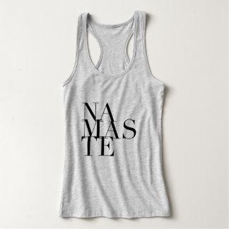 Chic tank för Namaste Yogamuskel