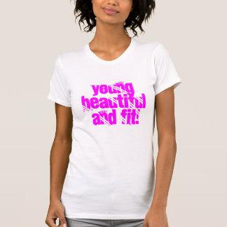 Chic trendiget, genomkörare utrustar t-shirt